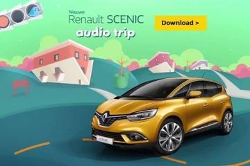 Wil je je gezinsuitstapjes met de wagen nog wat leuker maken? Download een magisch luisterverhaal dankzij Nieuwe Renault Scénic op https://scenic-audiotrip.renault.be/NL/Fb/